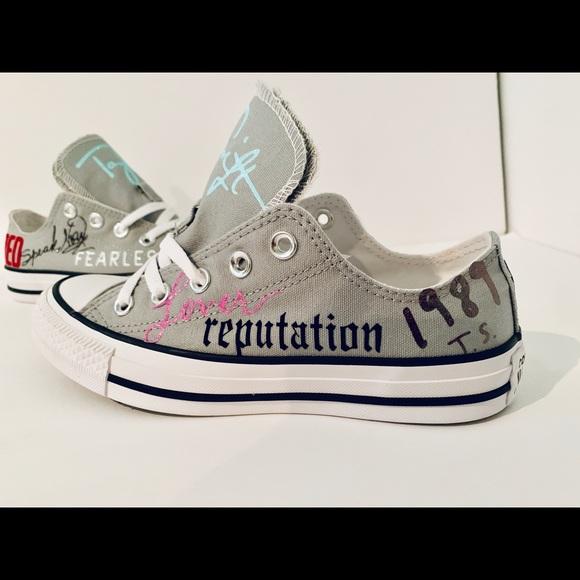 Converse Shoes | Taylor Swift Custom Girls | Poshmark